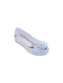 Disney's Frozen 2 Girl's Ultragirl Snowflake Flats by Mini Melissa