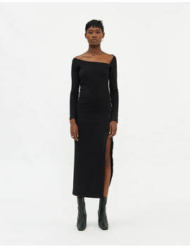 Laureen Knit Dress In Black by Stelen Stelen