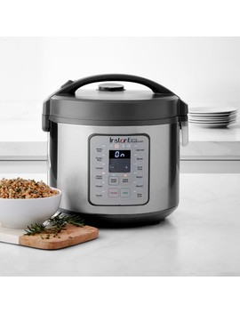 Instant Pot Stainless Steel 20 Cup Zest Plus Rice Cooker by Williams   Sonoma