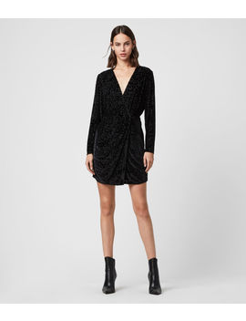Laney Devore Dress by Allsaints