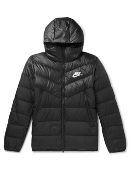 Quilted Shell Hooded Down Jacket by Nike