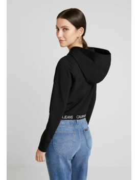 Logo Milano Hoodie   Kapuzenpullover by Calvin Klein Jeans