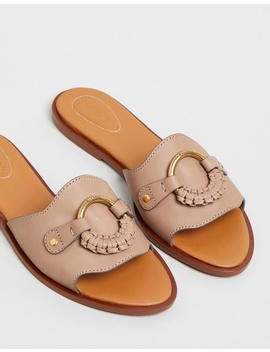 Flat Leather Sandals by See By Chloé