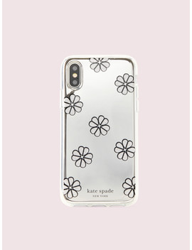 Mirror Spade Clover Toss Iphone Xs Case by Kate Spade