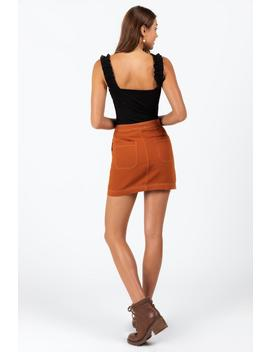 Fern Classic Pocket Skirt by Francesca's