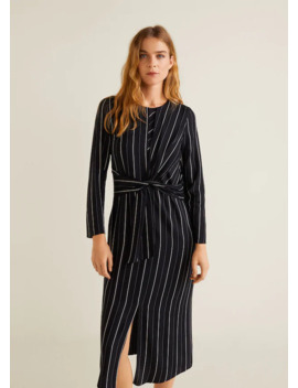Vestido Com Nó by Mango
