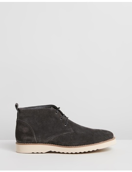 Maitland Suede Chukka Boots by Double Oak Mills