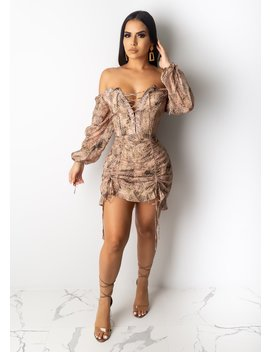 Can't Handle Me Mini Dress by Diva Boutique