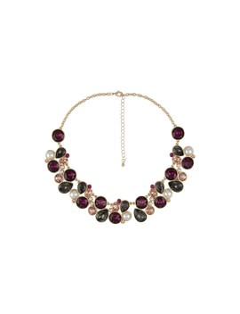 Crown Statement Necklace by Amelie