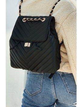 Becca Backpack   Black by Miss Lola