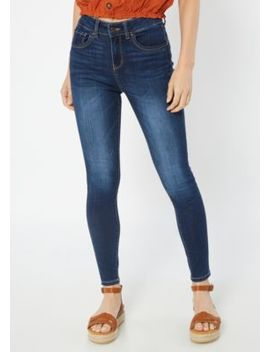 Dark Wash High Waisted Booty Jeggings by Rue21