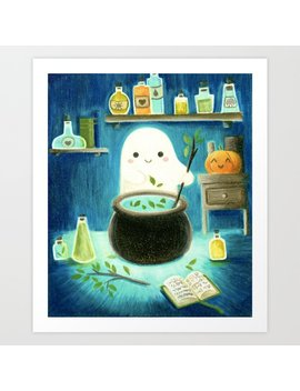 Ghost And Potions Art Print by Society6