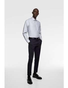 Camisa Estructura Bicolor by Zara