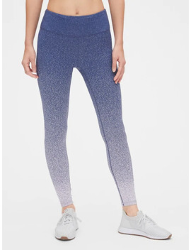 Gap Fit High Rise Speckle Ombre 7/8 Leggings by Gap