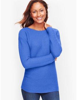 Horizontal Shaker Stitch Sweater by Talbots