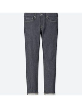 Men Selvedge Stretch Slim Fit Jeans (11) by Uniqlo