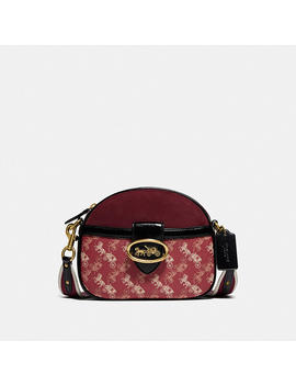 Kat Crossbody With Horse And Carriage Print by Coach