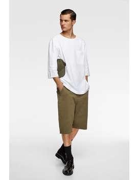 Camisa RÚstica Combinada by Zara