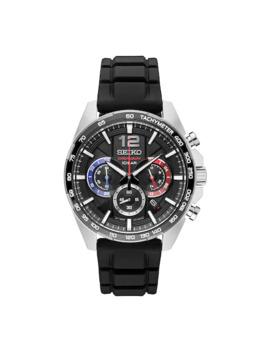 Seiko Men's Stainless Steel & Silicone Chronograph Watch   Ssb347 by Seiko