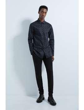 Camisa Satinada Estampado Paisley by Zara