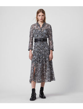 Eley Mara Dress by Allsaints