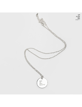 Self Introduction Chain Necklace by Chuu