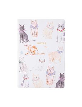 6 In. X 8 In. Style Journal Notes, Cat by Eccolo