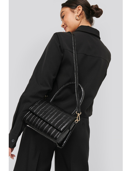 Mini Top Handle Flap Bag Black by Na Kd Accessories