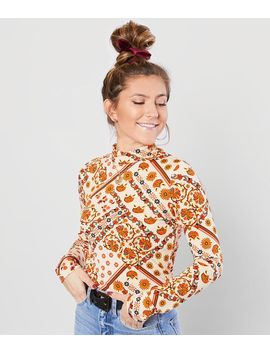 Retro Floral Top by Willow & Root