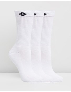 Crew Sock 3 Pack by Converse