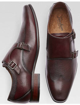 Florsheim Kierland Burgundy Double Monk Strap Shoes by Florsheim