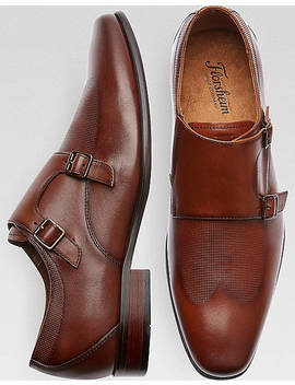 Florsheim Kierland Cognac Double Monk Strap Shoes by Florsheim