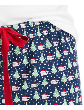 Santa Whale & Tree Pajama Pants by Vineyard Vines