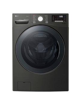 Lg 5.2 Cu. Ft. Turbo Wash Front Load Washer (Wm3800 Hba)   Black Steel by Best Buy