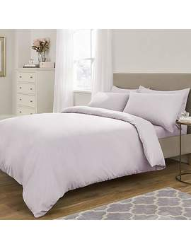 Fogarty Soft Touch Lilac Duvet Cover And Pillowcase Set by Dunelm