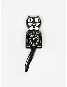 Classic Black Kit Cat Clock by California Clock Company
