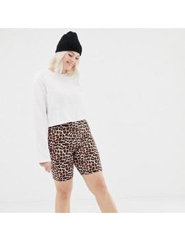 Nwt Asos Curve Legging Short In Leopard PrintNwt by Asos Curve