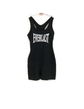 Vintage Everlast Razorback Shorts Bodysuit Singlet by Everlast