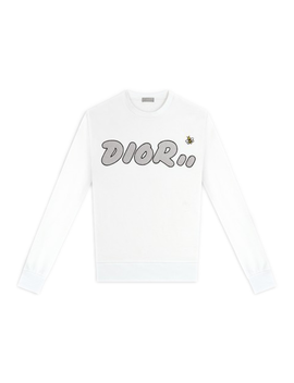 Kaws X Dior Crewneck Sweatshirt White by Stock X