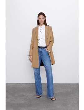 Menswear Style Coat by Zara