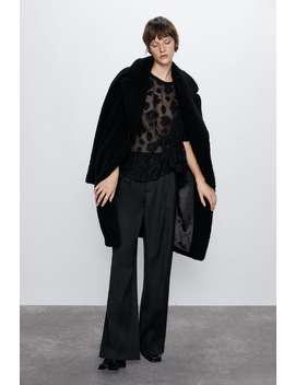 Voluminous Organza Blouse by Zara