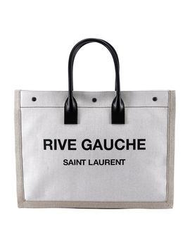 Saint Laurent Rive Gauche Canvas Tote by Saint Laurent Saint Laurent