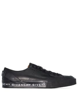 Tennis Light Logo Print Sneakers by Givenchy