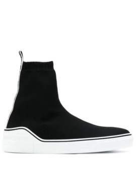 Slip On Logo Sneaker Boots by Givenchy