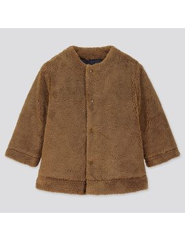 Babies Toddler Warm Padded Reversible Coat (1) by Uniqlo