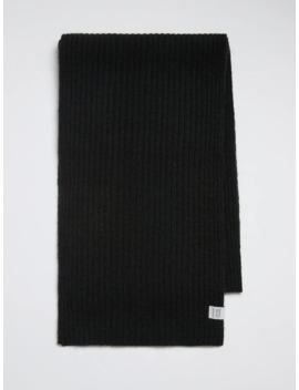 Wool Blend Scarf In Black by Frank & Oak