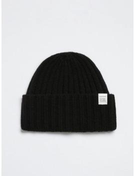 Wool Blend Beanie In Black by Frank & Oak