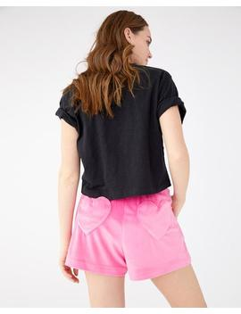 Waste Of Time Velour Lounge Shorts by Ban.Do