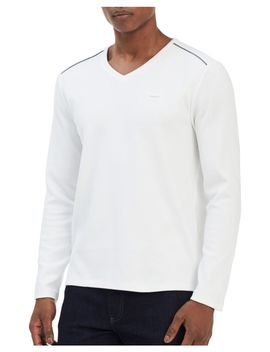 V Neck Sweater by Calvin Klein