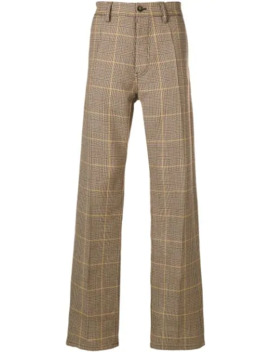Check Trousers by Marni